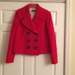 JCrew cropped pea coat